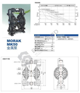 mk50气动隔膜泵图片