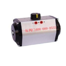 7,安装电磁阀的gt气动执行器,调试时应先用手动装置进行(电磁阀上的图片