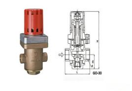 内装过滤网防御垃圾的问题 流体接触部件使用不锈钢 3gd-30减压阀参数图片