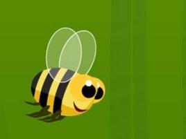快乐的小蜜蜂图片