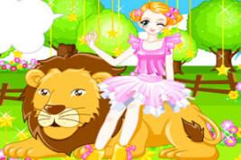 少女和狮子图册
