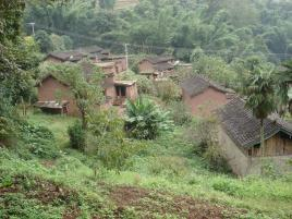 坝子自然村图片
