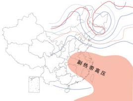 副热带高气压带图片