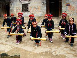 瑶族长鼓舞伴奏简谱图片