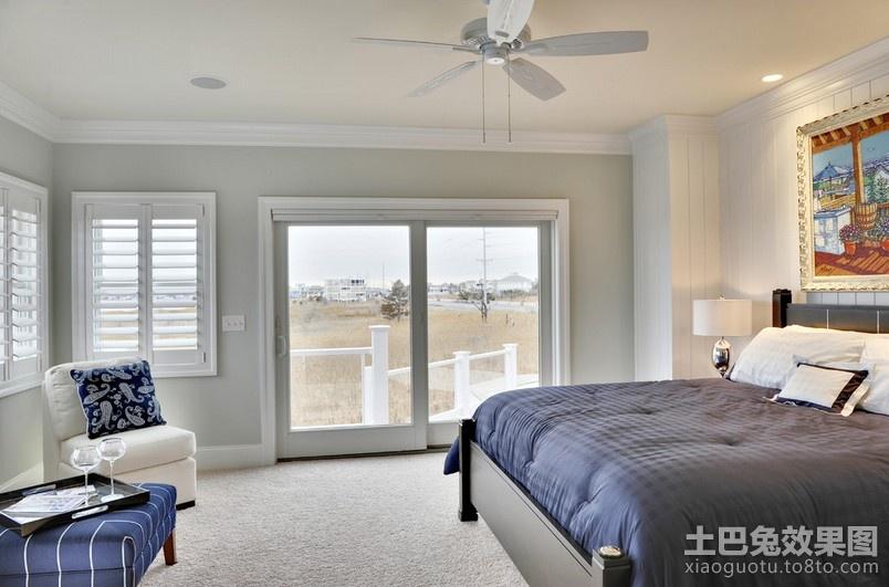 两室一厅简欧风格卧室装修效果图图片