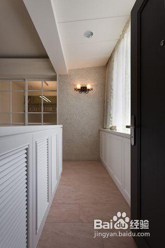 门厅双面隔断效果图-玄关设计-老房装修效果图 老房改造看过来五套设计案例助你打造放心