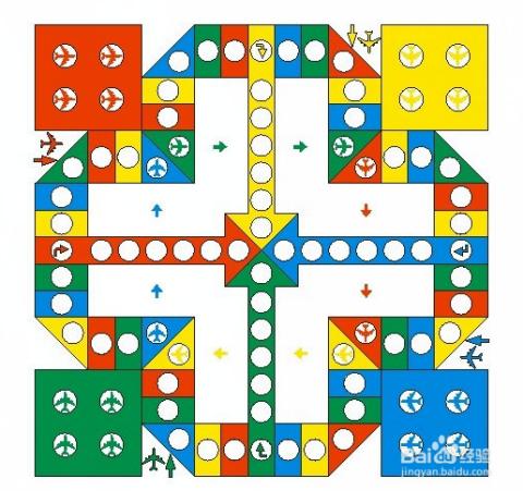 飞行棋基本玩法图片