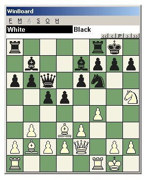 国际象棋教程四十三:消除王前屏障的战术组合图片