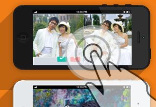 怎样制作漂亮的微信音乐相册和手机微相册图片