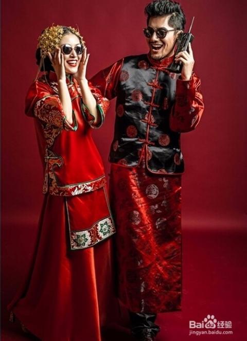 中式婚纱照怎样拍图片