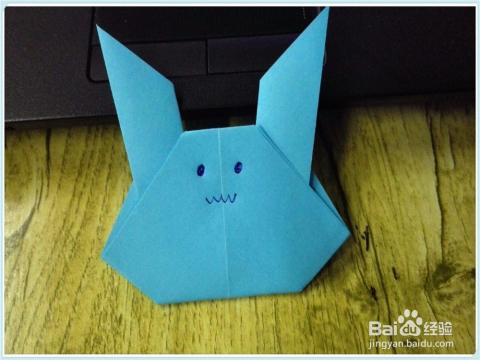 小兔子的简单折法图片