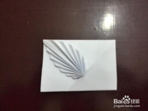 信纸折法——相思叶_手工艺图片