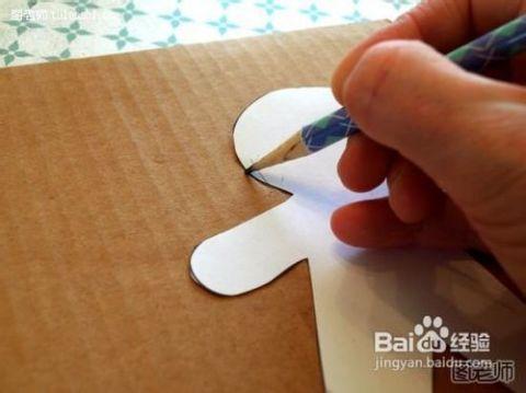 手工制作纸片人图片