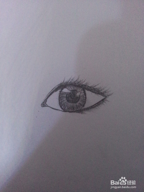 如何画简单传神的眼睛图片