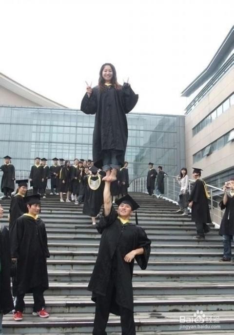 毕业创意照片 毕业留念:[6]毕业照要有范图片
