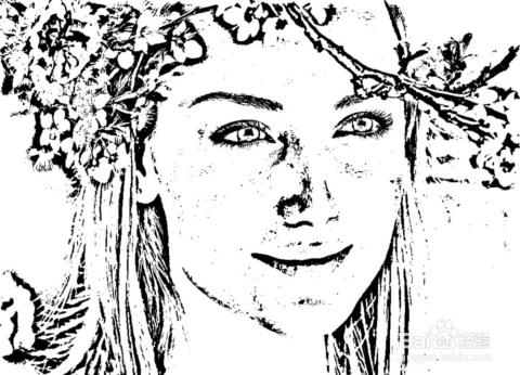 photoshop运用技巧:[12]照片转换成素描效果图片