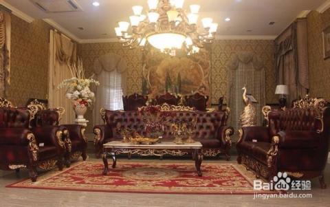 高雅的古典--欧式古典(装出宫殿版的房子)图片