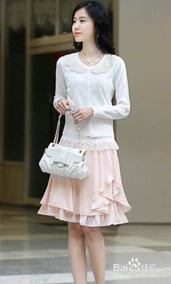 蓬蓬裙:很少女的穿法