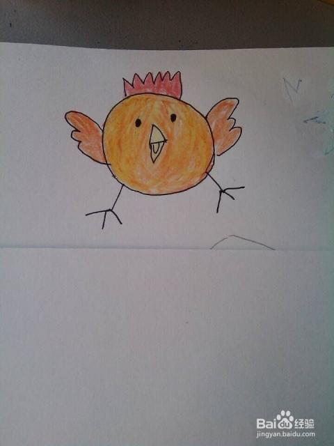 简笔画 愤怒 的 小鸟