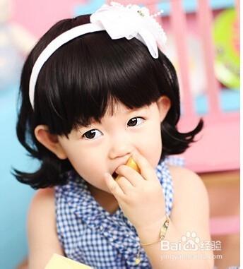 女宝宝的漂亮发型图片图片