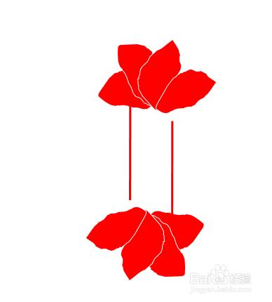 绘制中国风元素的ppt标题装饰图片
