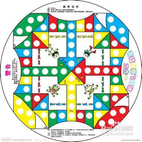 飞行棋的规则图片