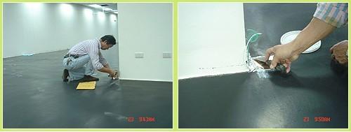 防静电地坪施工程序