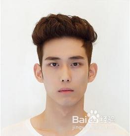 韩式大背头发型图片