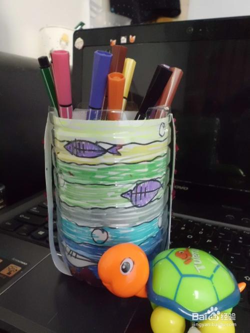 手工制作实用大方又芳香四溢的笔筒图片