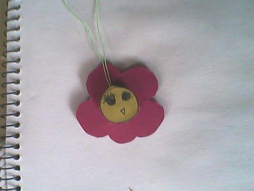 画上一朵花的形状图片