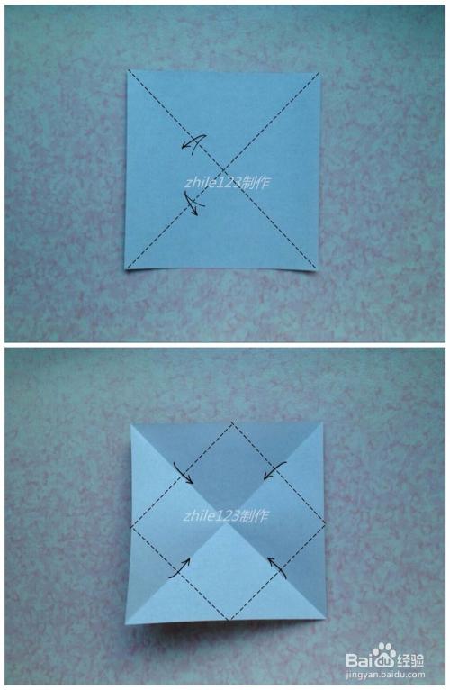 手工折纸制作:[47]一起折:书架模型图片