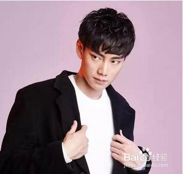 韩式男生短发烫发图片