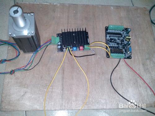 步进电机 步进驱动器 PLC工控板 接线方法图片