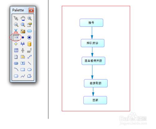 powerdesigner使用教程:[2]新建业务流程图图片