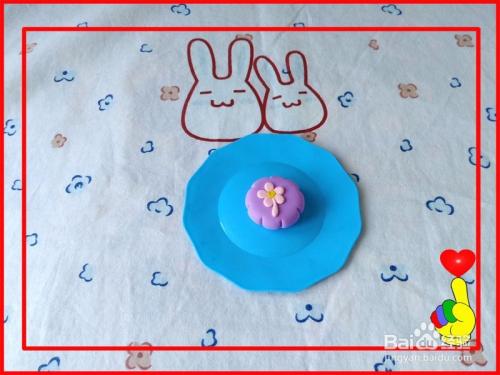 泥彩泥手工制作月饼6 中秋节