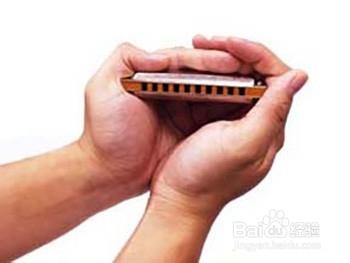 十孔布鲁斯口琴教程:[1]口琴握法图片