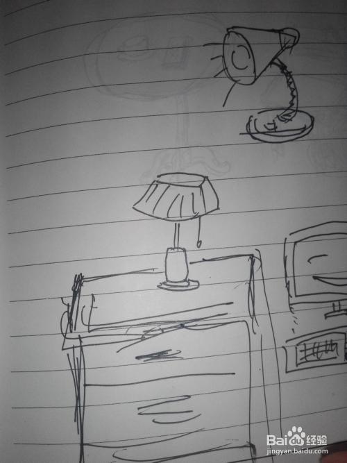 围巾帽子简笔画