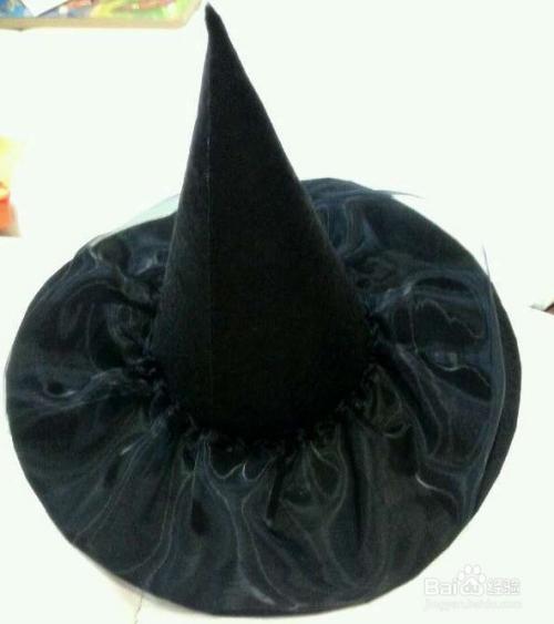 万圣节儿童帽子的做法图片