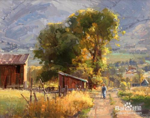 大师油画风景