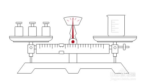 如何利用edraw max设计软件制作天平称量示意图图片