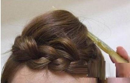 韩式学生发型扎法步骤图片