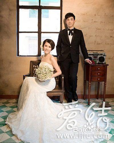 婚纱摄影完全手册之婚纱照pose如何摆图片