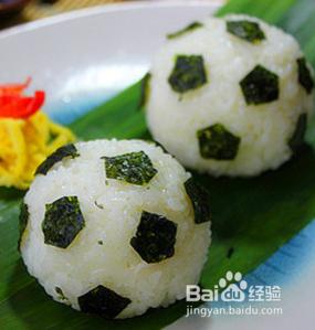 足球寿司——很有创意吧图片