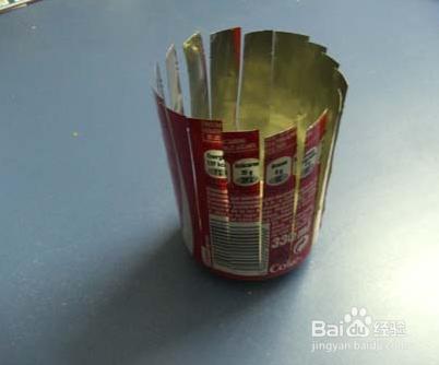 【手工】diy科技制作易拉罐简易烟灰缸图片