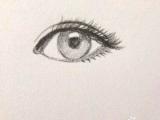 初学画画,怎么画出漂亮有神的眼睛图片
