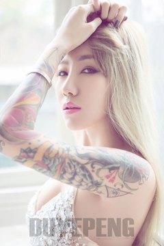 漂亮的纹身图片女