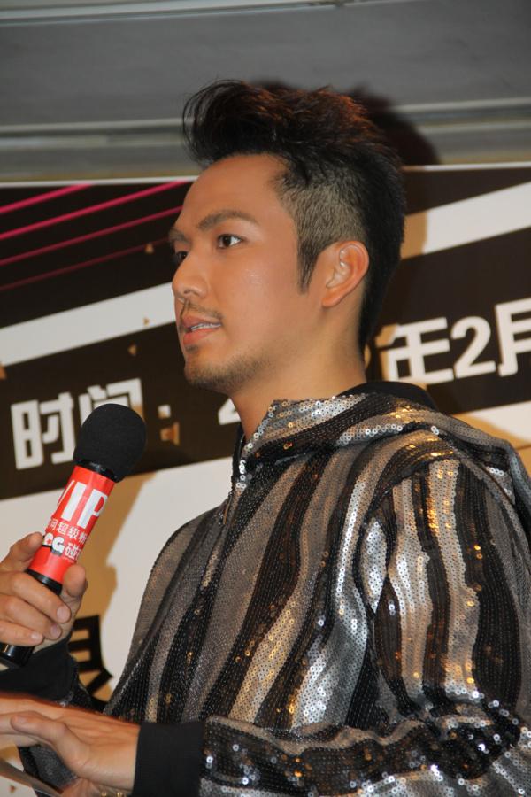 钟汉良 20120104广州演唱会启动仪式 BY大麦网图片