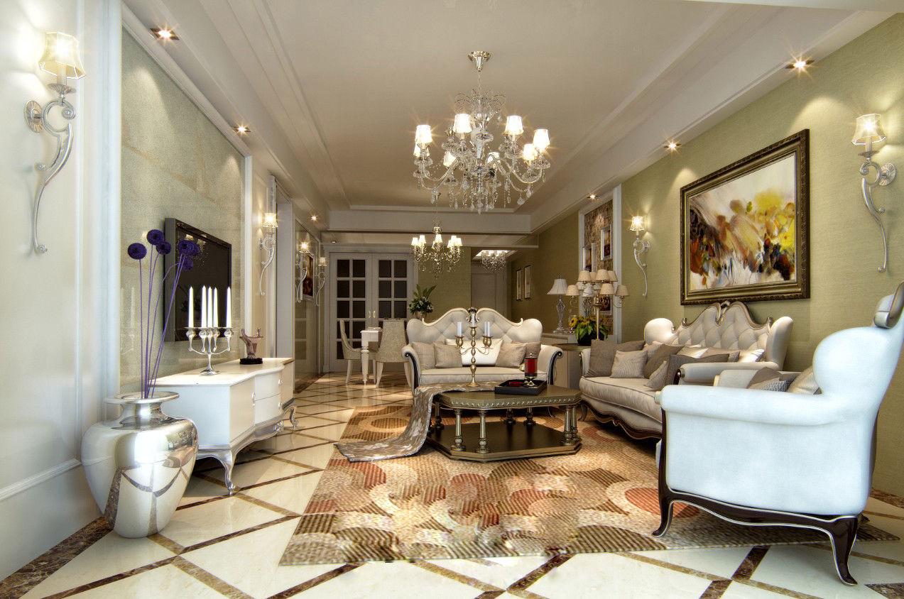 欧式简约客厅阳台装修图片欣赏_装修之家装修效果图图片