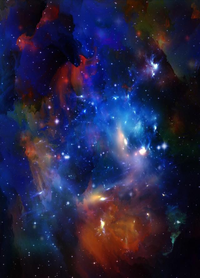 璀璨的星空绚丽无比,手机星空壁纸系列,希望为你所爱