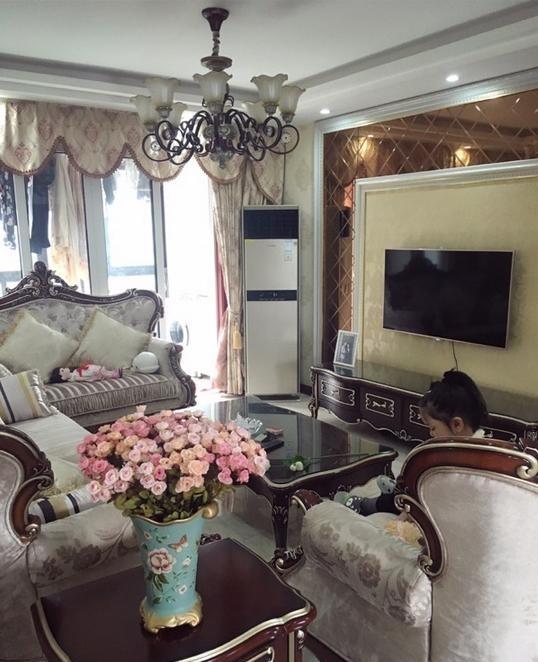 美女晒130平米新房,欧式装修,家具花了20w,大家看看怎样图片